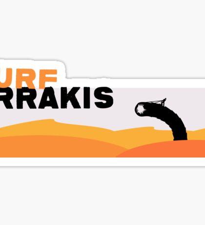 Surf Arrakis Sticker