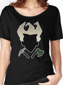 Don't Starve Axe/Pickaxe Design Women's Relaxed Fit T-Shirt