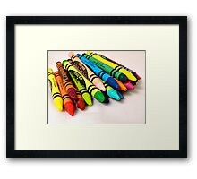 For The Kid in Us All Framed Print