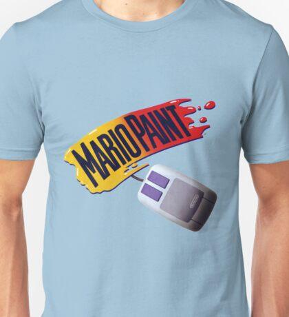 Mario Paint Logo & Mouse Unisex T-Shirt
