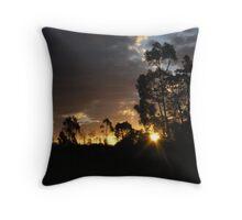 AN AUSTRALIAN SUNSET 2 Throw Pillow