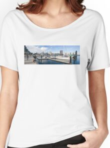 Docklands Panorama Women's Relaxed Fit T-Shirt