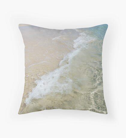 Pure Beach Throw Pillow