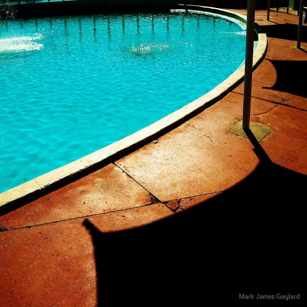 the pool by Mark James Gaylard