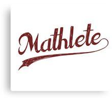 All Star Mathlete Math Athlete Canvas Print