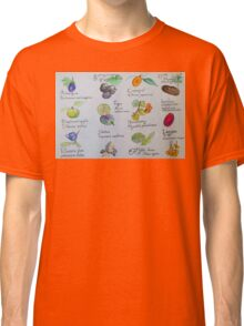 Fruits, A to L Classic T-Shirt