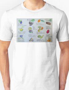 Fruits, A to L T-Shirt
