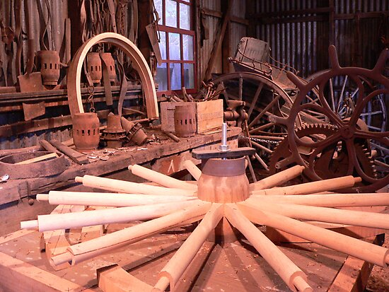 Wheelwright Shed by Anne van Alkemade