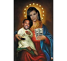 The Virgin Pornstar & Yeezus Photographic Print