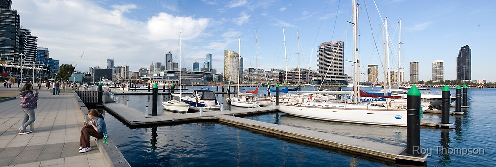 Docklands Panorama by Roy Thompson