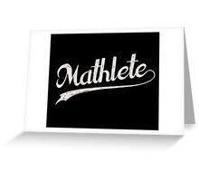 All Star Mathlete Math Athlete Greeting Card