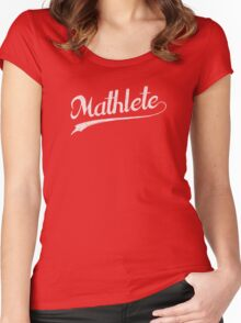 All Star Mathlete Math Athlete Women's Fitted Scoop T-Shirt