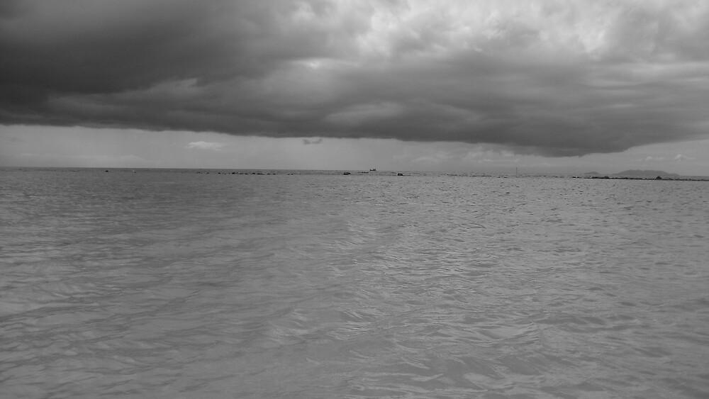 Same storm in Koh Phangan by Rohana