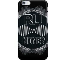 R U Mine? Blck/Wht/Blck iPhone Case/Skin