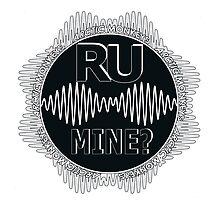 R U Mine? Gry/Wht/Black by psycheincolour