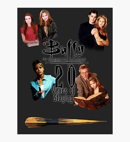 Buffy - 20 Years of Slaying Photographic Print