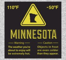 Minnesota Extreme Warning T-Shirt