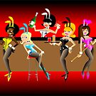 Bunny Club by Leigh Canny
