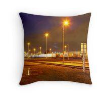 Railyard Throw Pillow