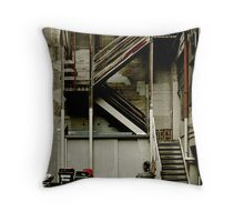 Alley staircase Throw Pillow
