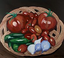 Basket of Veggies by steveralston