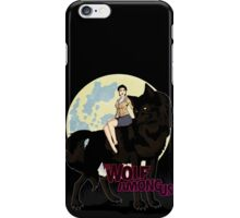 One Big Bad Wolf iPhone Case/Skin