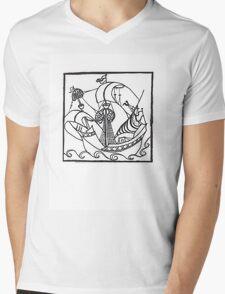 Sailing Away Mens V-Neck T-Shirt