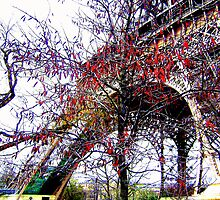 Autumn Eiffel by Leia