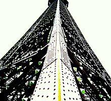 Up close Eiffel by Leia