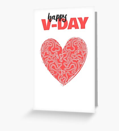 Love is a Dick Greeting Card