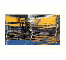 Boat abstract Art Print