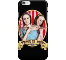 Bette & Dot (color) iPhone Case/Skin