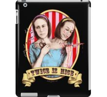 Bette & Dot (color) iPad Case/Skin