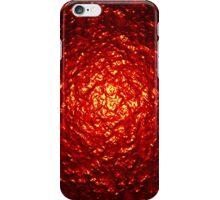 Red Pulse iPhone Case/Skin