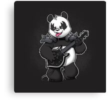 Heavy Metal Panda Canvas Print