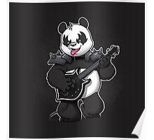 Heavy Metal Panda Poster