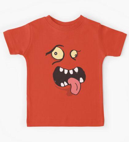 Little Monster kids t-shirt, birthday gift graphic tee (MLM01) Kids Tee