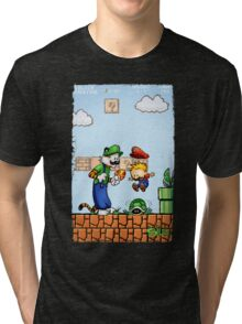 Super Calvin & Hobbes Bros. Tri-blend T-Shirt