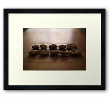Cooling Cookies Framed Print