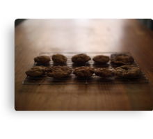 Cooling Cookies Canvas Print
