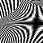 Rotated & Scaled Triangles 008 by Rupert Russell
