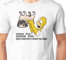 Spider Pug Unisex T-Shirt
