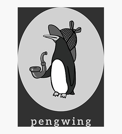 Pengwing Photographic Print