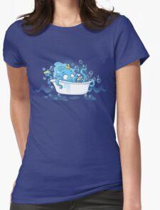 Kracken Bath Womens Fitted T-Shirt