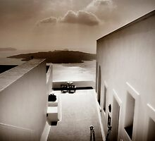 View's from Santorini by Simon Mitrovich