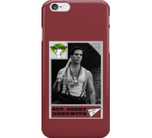 Donny Donowitz Ball Card iPhone Case/Skin