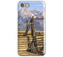 Teton Corral iPhone Case/Skin