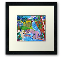 Paradise Queensland Style Framed Print