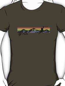Off Piste Skiing T-Shirt