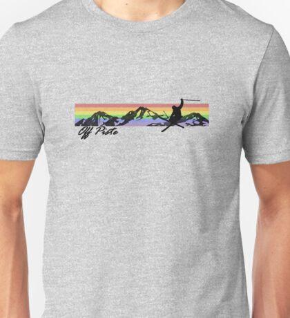 Off Piste Skiing Unisex T-Shirt
